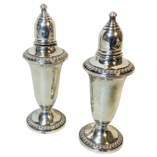 Smoir Sterling Silver Salt and Pepper Shakers