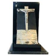 """Salvador Dali """" Christ of St.John on the Cross"""" Circa 1984"""