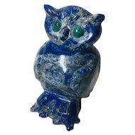 Lapis Lazuli Owl