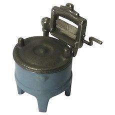 Antique Cast Iron Toy Washing Machine
