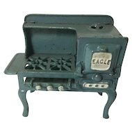 "Antique Cast Iron Toy Stove ""Eagle"""