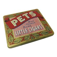 Pets Little Cigars Tobacco Tin