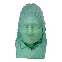 Van Briggle Indian Bust