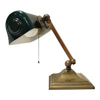 Vertalite Brass Desk Lamp