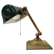 Vertalite Brass Desk Lamp