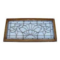 Victorian Beveled Glass Window