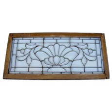 Victorian Beveled Glass Window
