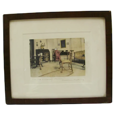 Wallace Nutting An Old Parlor Interior Photo