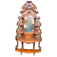 Walnut Victorian Eterge
