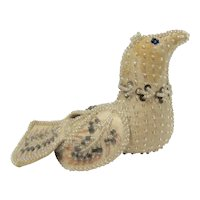 Whimsey Native American Iroquois Beaded Bird #1