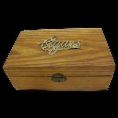 Wooden Cigar Humidor