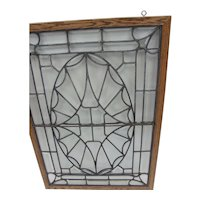 American Victorian Beveled Glass Window