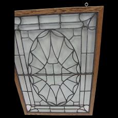 American Victorian Beveled Glass Window