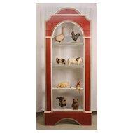 Victorian Painted Window Shelf