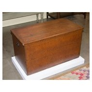 Painted Six Board Blanket Chest