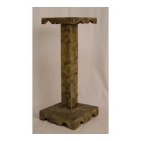 Smoke Decorated Candle Stand