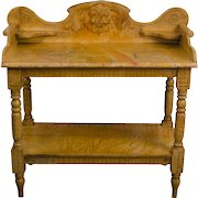 Faux Painted Pine Wash Stand