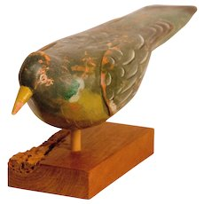 Painted Wood Pigeon Decoy