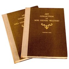Art Auction Books from a 1941 Parke-Bernet Galleries Sale