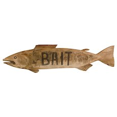 "Fish ""BAIT"" Trade Sign"