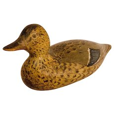 Working Mallard Hen Duck Decoy