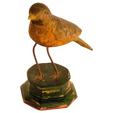 Folk Carved Burl Bird