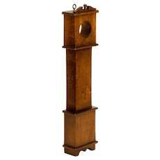 Solid Maple Watch Hutch in Traditional Tall Clock Form