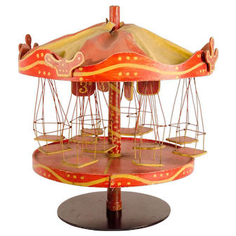 Minature Carousel Swing Toy