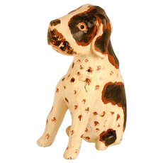Folk Carved and Painted Beagle