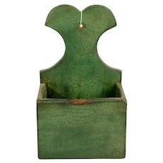 Green Painted Wall Box