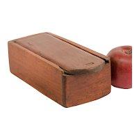 Diminutive Slide-lid Candle Box