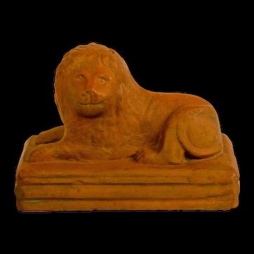 Sewer Tile Lion