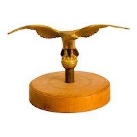 Cast Brass Spread-Wing Eagle