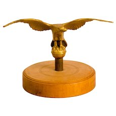 Cast Brass Spread-Wing Eagle