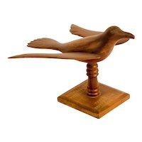 Carved Folk Art Bird from Pitcairn Island
