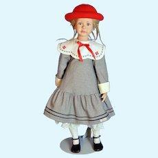 """German 27"""" Sigikid 'Annabelle' Doll Artist Angelika Mannersdorfer"""