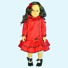 "German Gotz 22"" Artist Rosemarie Ammann LE Girl Doll"
