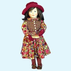 "Rare LE#37/200 Mary Doll by Lynne & Michael Roche 18"" Original Marked Wood BJB!"