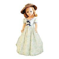 "Vintage 21"" Composition Arranbee Southern Belle doll all original"