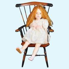 OOAK HTF rare doll by artist Dale Zentner Original marked