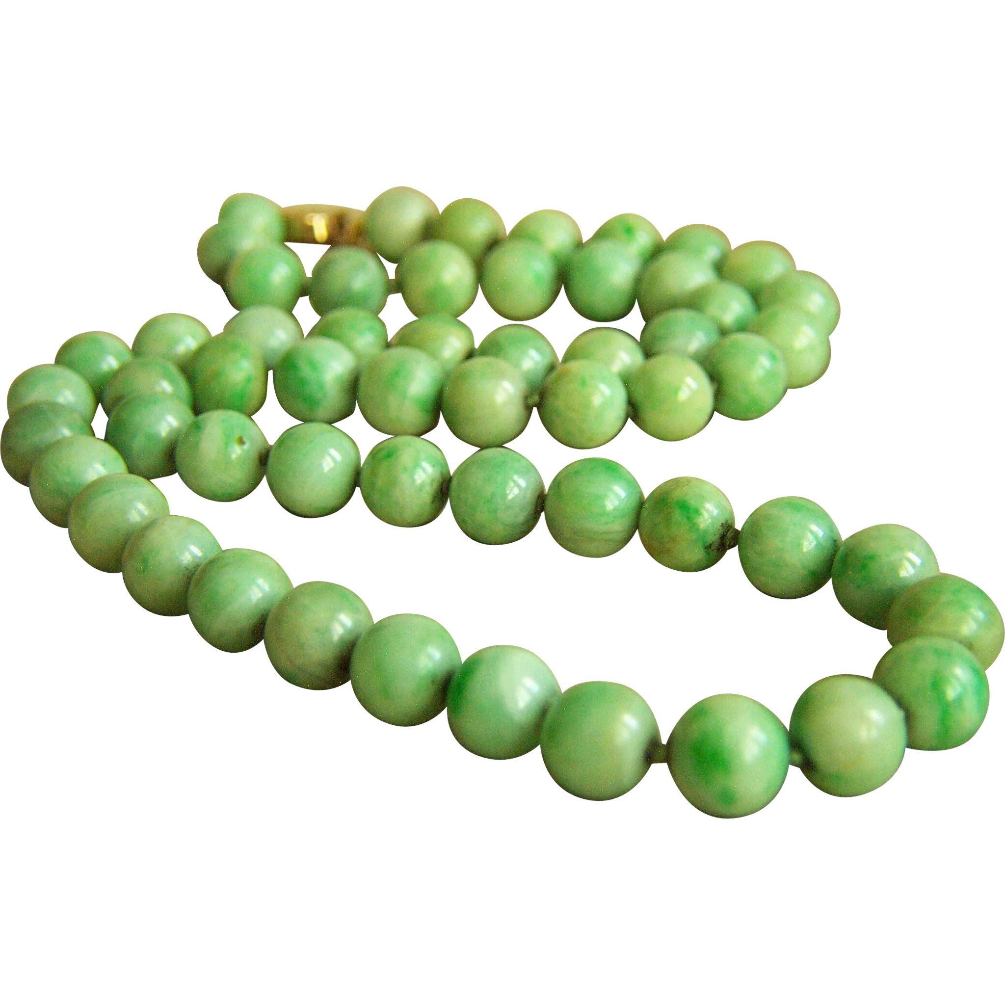 hemp archives product turquoise tag round gemstone jade beadery natural strand beads inch