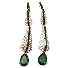 Kenneth J. Lane Runway Earrings