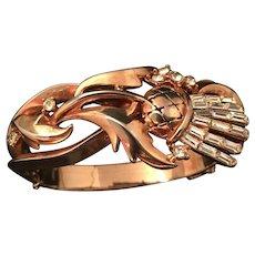 "Trifari ""Alfred Philippe"" Scottish Thistle Bracelet"