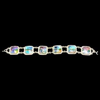 Real Butterfly Wing Bracelet