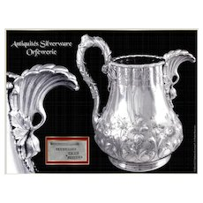 Lincoln & Foss and Woodward & Grosjean Prestigious Silver Pitcher, Boston