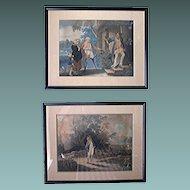 Antique prints Reverend Mathew Peters Rare
