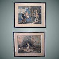 Mezzo- prints by the Reverend Mathew Peters