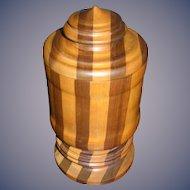 Primitive Hand Made Treen box