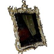 Antique art nouveau mirror by National Bronze & Iron Works