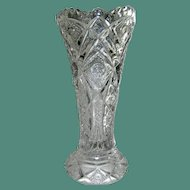Vintage Imoerial Glass Flower Vase